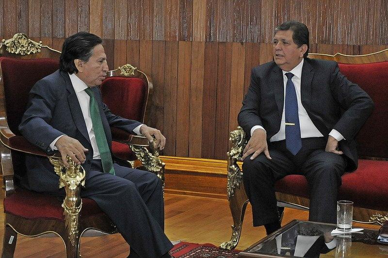 La Haya: Ollanta Humala se reunió con Alan García y Alejandro Toledo