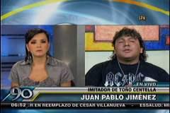 (Foto 90 Segundos) Yo Soy: Amenazan de muerte a imitador de Toño Centella