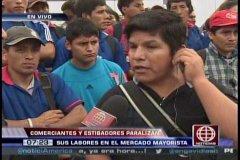 America Noticias / Cierra Mercado Santa Anita por paro estibadores y denuncian mala gestión