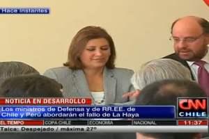 Perú y Chile inician cita del 2+2 y hablarán del fallo de La Haya