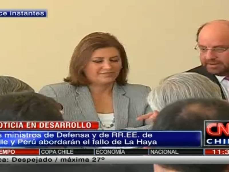CNN Chile / Perú y Chile inician cita del 2+2 y hablarán del fallo de La Haya