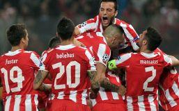 Olympiakos de Grecia logró un gran triunfo frente al Manchester United.