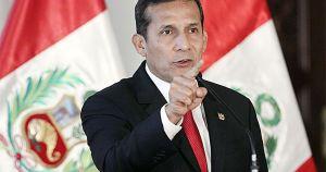 Humala advierte 'déjense de mezquindades' y niega proselitismo de gobernadores