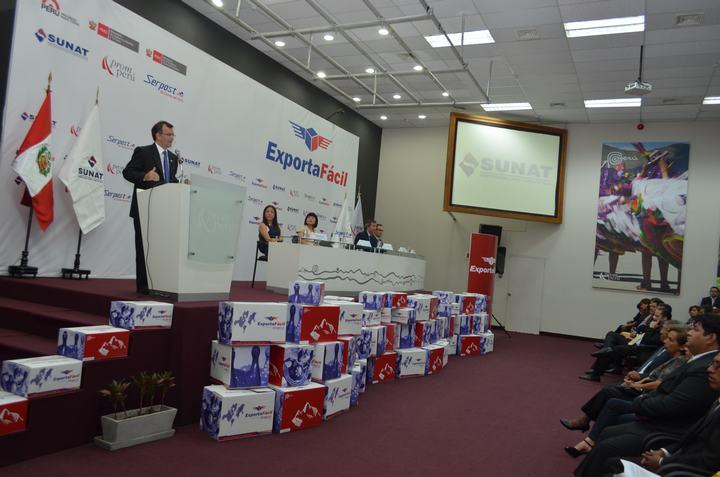 Los envíos internacionales bajo el mecanismo de Exporta Fácil se incrementaron el año pasado.