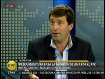Foto y video RPP / [VIDEO] Rafael Santos: Luis Castañeda no postulará a la alcaldía de Lima
