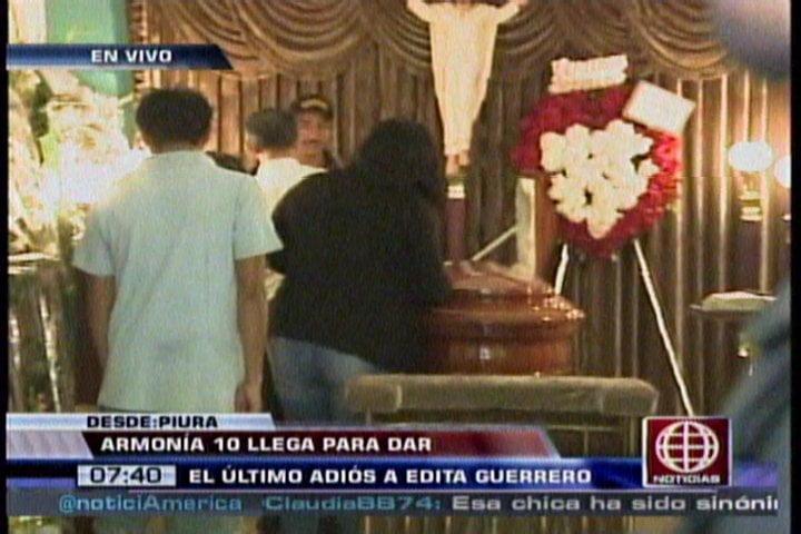 Foto América Noticias / Corazón Serrano: Marisol, Armonía 10 y otros se despiden de Edita Guerrero
