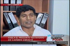 Foto Cuarto Poder / Chofer niega ser testaferro de ministra Carmen Omonte