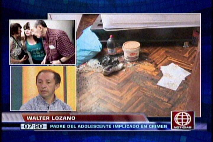 """Foto América Noticias / Asesinato en La Molina: """"Stephanie amenazaba a mi hijo tras matar a su madre"""""""