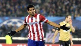 Diego Costa fue pieza clave en la clasificación del Atlético de Madrid tras anotar un triplete en el marcador global.