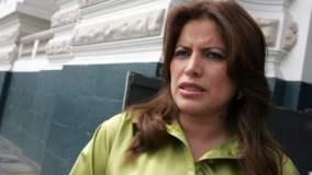 (Foto Perú 21) Ministra Carmen Omonte se salva: Ética archiva denuncia por vínculo con minera