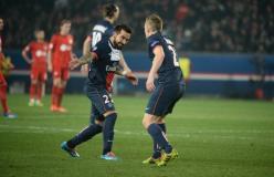 Lavezzi ya marcó el gol del triunfo del Paris Saint Germain que clasificó a cuartos de final de la Champions.