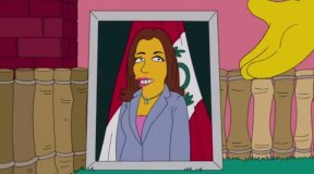 Foto y video FOX TV / [VIDEO] Marisol Espinoza aparece en 'Los Simpson', ¿y qué dirá Nadine Heredia?