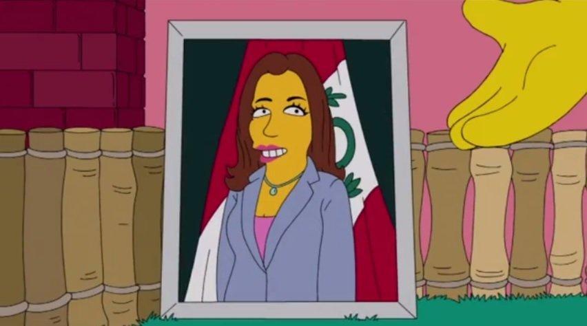 Foto y video FOX TV / [VIDEO] Marisol Espinoza aparece en 'Los Simpson', ¿y qué dirá Nadine Heredia?