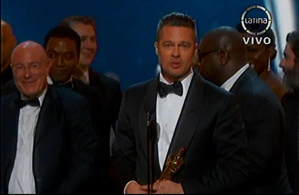 Óscar 2014: 12 años de esclavitud es la Mejor Película
