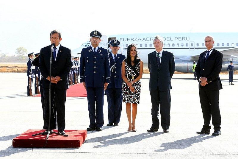 Nadine Heredia no rompió el protocolo aclara Embajada del Perú en Chile