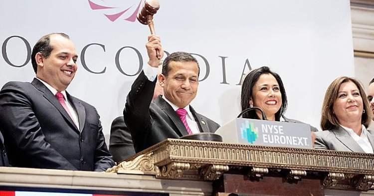 """Foto El Peruano / Ollanta Humala: """"Hay una campaña grosera y asquerosa contra Nadine Heredia"""""""