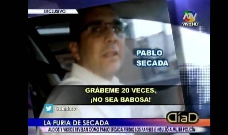 [VIDEO Día D] Pablo Secada quiere ser alcalde pero insultó a mujer policía