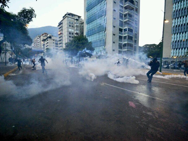 Foto Twitter / Venezuela: Más de 40 detenidos por guardia chavista por protestas en Altamira