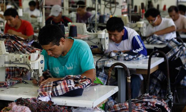Los envíos al exterior de prendas de tejidos de punto se ubicaron en el sexto lugar de las exportaciones totales del Perú.