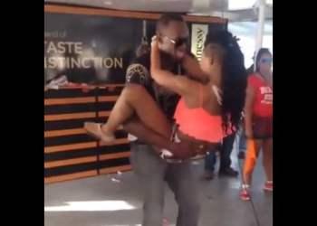 [VIDEO] Usain Bolt y su baile 'hot' con una guapa jovencita en Youtube