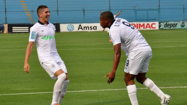 La U. San Martín celebró una nueva victoria que le valió alcanzar el primer lugar en su grupo.