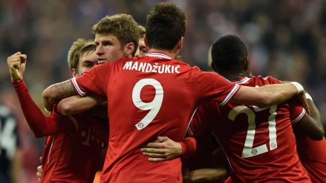 Bayern Munich impuso su condición de campeón vigente de Europa.