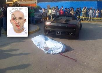 FOTO RPP @luiseduhardo / Hombre baleado en Surquillo estaba implicado en narcotráfico y fraude de visas