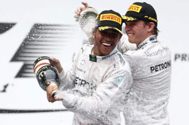 Hamilton logró su segundo triunfo consecutivo tras imponerse en Bahréin.