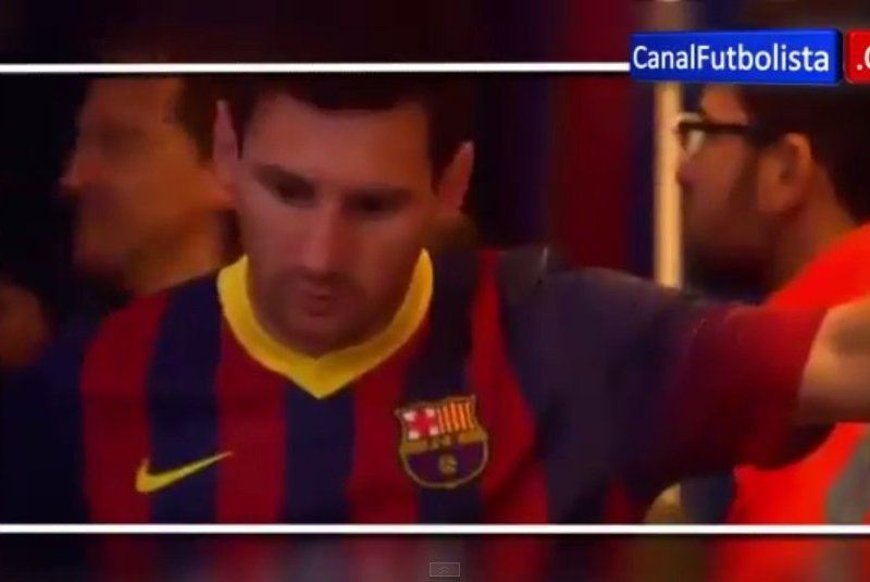 [VIDEO] Lionel Messi vomitó en túnel y antes del duelo contra el Athletic Bilbao