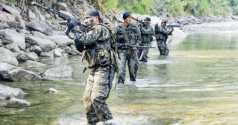 VRAEM: Terrorista fue abatido por militares y recuperan fusiles