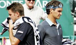 Wawrinka y Federer protagonizarán mañana la primera final suiza en Monte Carlo.