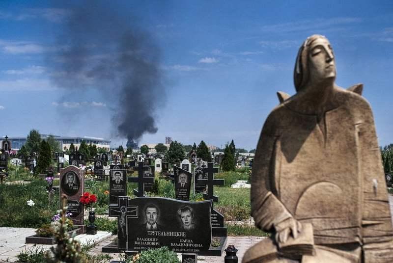Foto teinteresa.es / Ucrania: 100 muertos por enfrentamientos entre rebeldes prorrusos y civiles