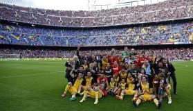 El Atlético Madrid se consagró campeón de España y terminó con el dominio del Barcelona y Real Madrid, clubes que se intercalaron las celebraciones en las últimas nueve temporadas.