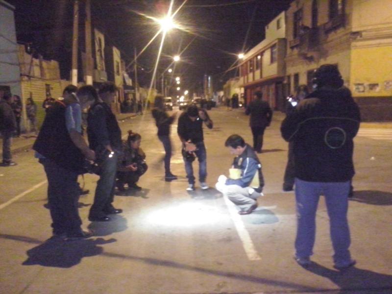 Foto @EsMagurojas / Un muerto y nueve heridos tras balacera en el Callao