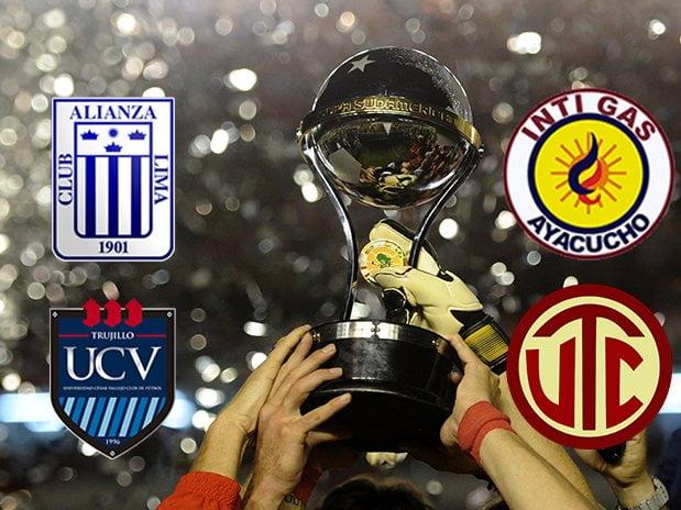 Alianza, Vallejo, Inti Gas y UTC participarán en la Copa Sudamericana de este año. Ojalá, esta vez, los clubes peruanos no decepcionen.