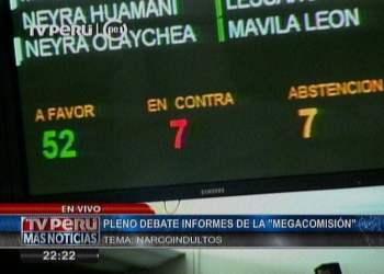 Alan García sometido a acusación constitucional por el Pleno del Congreso