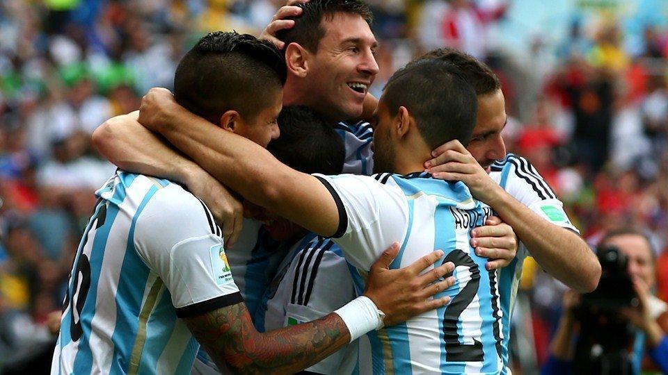 De los seis goles que ha marcado Argentina hasta el momento, cuatro han sido anotados por Lionel Messi.