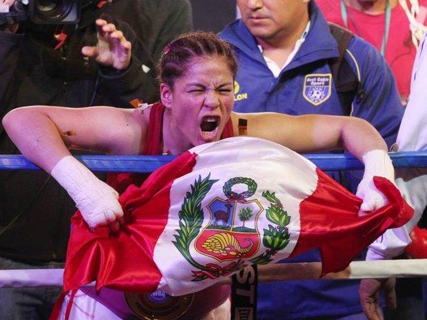 Linda Lecca hizo historia en el box al consagrarse campeona mundial supermosca.