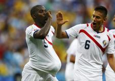 Con una gran actuación de Campbell, Costa Rica sorprendió a Uruguay.