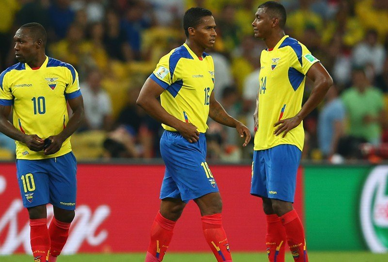 Ecuador fue el único representante de Sudamérica en Brasil 2014 que no clasificó a los octavos de final.