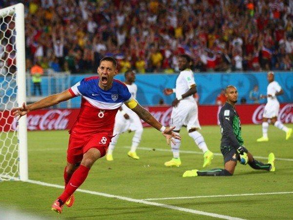 Demsey marcó hasta el momento el gol más rápido del Mundial Brasil 2014.
