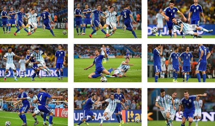 Fotos Fifa corto video ATV / GOLES: Con susto Argentina derrota 2-1 a Bosnia por el Grupo F
