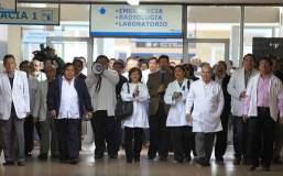 Foto El Comercio / Médicos de EsSalud levantan huelga tras mesa de diálogo