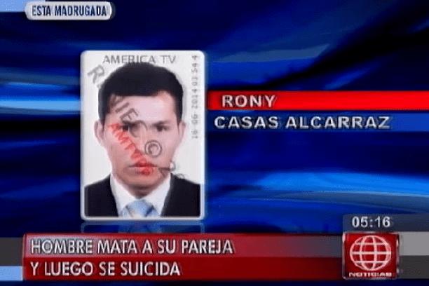[VIDEO] Hombre asesina a pareja frente a su menor hijo y luego se suicida