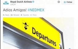 Aerolínea KLM se burló de mexicanos tras su eliminación del mundial