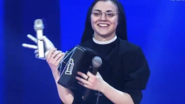 [VIDEO] Sor Cristina es la absoluta ganadora La Voz Italia