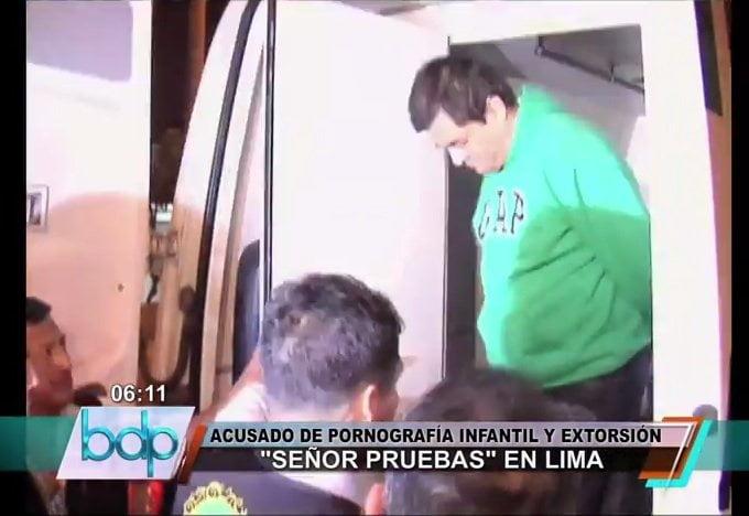 [VIDEO] Llegó extraditado el Señor Pruebas que extorsionaba a bellas jovencitas