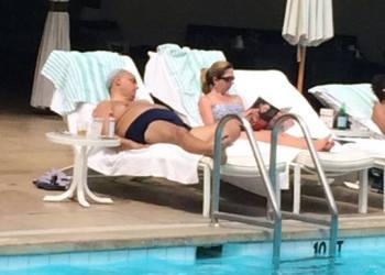 [FOTO] Mira como Manuel Burga veraneaba en Beverly Hills