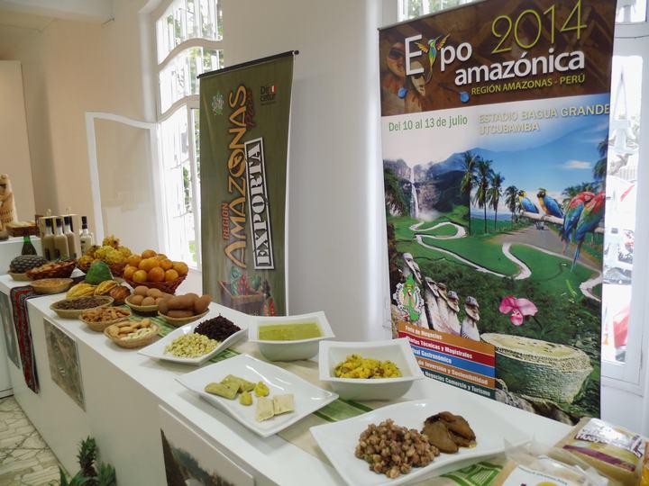 Dentro de la Feria Expoamazónica se exhibirán productos agroindustriales.