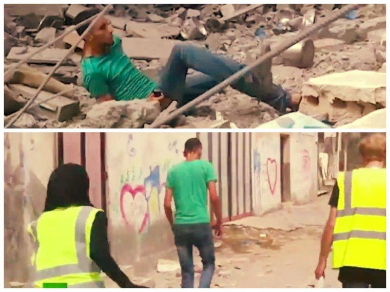 [VIDEO] Impactante: Palestino es asesinado presuntamente por francotirador israelí